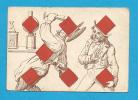 * Ancienne carte � jouer du 19 �me si�cle en Lithographie ( 70x104 mm )