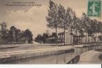 93-aulnay Sous Bois  Avenue Du Clocher Vue Du Canal - Aulnay Sous Bois