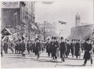 PRESIDENT WILSON MARCHING IN PREPARED DAY PARADE AT 15 TH AND PENNSYLVANIA - Manifestations