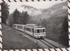 M679 TRAIN BDe 4/4 402 521 ET Bt 431 EN DESSOUS DES  PLANCHES COURSE ESSAI PHOTO HADORN 1987 - Trains