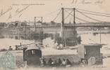 Ancenis - Le Pont Près Des Fourneaux ( Belle Animation ) - Scan Recto-verso - Ancenis