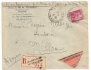 CONTRE REMBOURSEMENT, Type PAIX 1F75 Seul Sur Enveloppe De MARSEILLE SAINT FERREOL. - Marcophilie (Lettres)