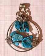 Fine Arizona Turquoise Pendant - Etnica