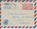 Rhino.Aerograma Stationery 85p Circulated Delhi 2/1/1971 To Porto.Plays A Rhino.Airmail,Animals,Aviation. 2scans - Rinocerontes