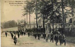 62 AUCHY-LES-HESDIN - Sortie Des Ouvriers - Très Animée - France