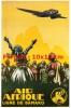 Reproduction D'une Photographie D'une Affiche Air Afrique Ligne De Bamako - Reproductions