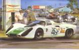 Sebring 12-Hours 1968 -  Florida  -  Jo Siffert/Hans Herrmann  -  Porsche  -  Art Card By Michael Turner - Le Mans