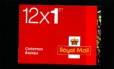 GREAT BRITAIN - CHRISTMAS  2009  1st   BOOKLET MINT NH  SG LX38 - Libretti