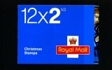 GREAT BRITAIN - CHRISTMAS  2009  2nd   BOOKLET MINT NH  SG LX37 - Libretti