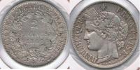 FRANCIA FRANCE 2 FRANCS 1881 A PLATA SILVER V - Francia