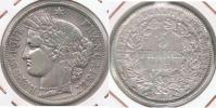FRANCIA FRANCE 5 FRANCS 1850 A PLATA SILVER  V - J. 5 Francos