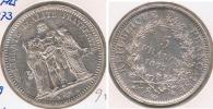 FRANCIA FRANCE 5 FRANCS 1873 A PLATA SILVER V3 - Francia