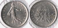 FRANCIA FRANCE 5 FRANCS 1971 PLATA SILVER V - J. 5 Francos