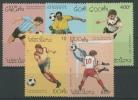 Laos 1993 Fußball-WM USA 1384/88 Postfrisch - Laos