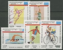 Kambodscha 1995 Olympiade Atlanta 1497/01 Postfrisch - Cambodge