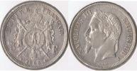 FRANCIA FRANCE 5 FRANCS NAPOLEON III 1868 A PLATA SILVER V - Francia