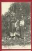 MBD-17 Annam (French Protectorate) Chez Les Chan-Thay. Jeunes Mariés. Ecrite En 1910 Sous Enveloppe Vers Paris - Vietnam