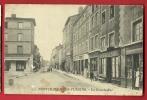 MBD-19  Pontcharra-sur-Turdine  La Grande-Rue. Café De La Place, GRIMARD, ANIME. Circulé En 1916 Sous Enveloppe - Pontcharra-sur-Turdine