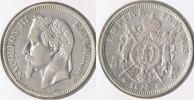 FRANCIA FRANCE 5 FRANCS NAPOLEON III 1870 A PLATA SILVER V - J. 5 Francos