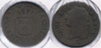 FRANCIA FRANCE SOL ORLEANS R 1791 RARO LOUIS XVI V - 1789 – 1795 Monedas Constitucionales