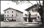 CPA Kobarid, Vue De La Rue Avec Monument - Slovenia
