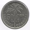 CONGO - ALBERT II * 50 Centiem 1929 Vlaams *  Pr / FDC  * Nr 8036 - 1910-1934: Albert I