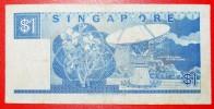 ★RADIO TELESCOPE: SINGAPORE ★ 1 DOLLAR (1987)! LOW START ★ NO RESERVE! - Singapour