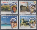 2001.28- * CUBA 2001. MNH. TURISMO. VISTAS TURISTICAS. CAYO LARGO. TRINIDAD. PINAR DEL RIO. CASTILLO CABAÑA. - Kuba