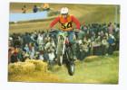 CPSM SPORT MOTO - SUPERBE PLAN D'une Moto Cross En Action - Pas De Libellé - Sport Moto