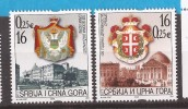 2003  3140-41  WAPPEN JUGOSLAVIJA JUGOSLAWIEN SRBIJA SERBIEN CRNA GORA MONTENEGRO UNABHAENGIGKEIT  MNH - Montenegro