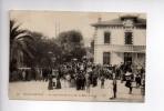 JUAN-LES-PINS - La Gare - Arrivée De S.M. La Reine De Saxe  (b) - Antibes