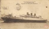 France  #281 - Type Paix - Paquebot CHAMPOLLION - Poste Maritime 1935 - Marseille-Gare - Correo Marítimo