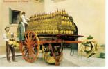 CHIANTI WINE DOWNLOADING OF CHIANTI SCARICAMENTO DI CHIANTI REPRINT POSTCARD - Handel