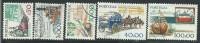 Portogallo 1979 Usato - Mi.1428/32 Serie Completa 5v - 1910-... République