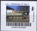 Biber Post Kampfpanzer VI Tiger I  (45) Gezähnt Altes Logo A946 - [7] Repubblica Federale