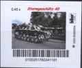 Biber Post Sturmgeschütz 40  (45) Gezähnt Altes Logo A947 - Privados & Locales