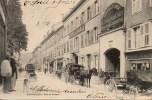 25 PONTARLIER  Rue De La Gare (très Animée) - Pontarlier