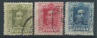 Spagna 1922/30 Usato - Mi.281; 289; 292 - 1889-1931 Regno: Alfonso XIII