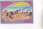 Espagne ;Lost In Paradise IBIZA (signé LODI)Humour Plage De Femmes à Moitiés Nus !!!! - Ibiza