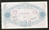 FRANCE - BANQUE De FRANCE - 500 Francs BLEU Et ROSE (Paris 05 / 05 / 1938 L) - 1871-1952 Antichi Franchi Circolanti Nel XX Secolo