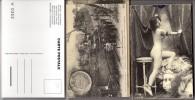 64 Copies De Cartes Postales Anciennes - Série Hachette ? - Reproductions - Tous Thèmes Et Sujets - Non Triées - Cartoline
