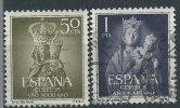 Spagna 1954 Usato - 2v - 1931-Oggi: 2. Rep. - ... Juan Carlos I