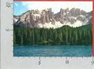 CARTOLINA VG ITALIA - Lago Di CAREZZA (BZ) Con Latemar - 10 X 15 - ANNULLO 1974 - Bolzano