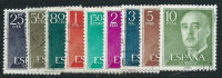 Spagna 1955/6 Usato - 9v - 1931-Oggi: 2. Rep. - ... Juan Carlos I