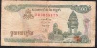 CAMBODIA  P41a  100 RIELS  1995    FINE - Cambodia