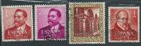 Spagna 1961 Usato - Mi.1246/47; 1261; 1265 - 1931-Oggi: 2. Rep. - ... Juan Carlos I
