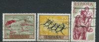 Spagna 1962/7 Usato - 3v - 1931-Oggi: 2. Rep. - ... Juan Carlos I
