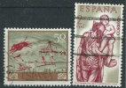 Spagna 1962/7 Usato - 2v - 1931-Oggi: 2. Rep. - ... Juan Carlos I