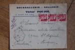 Envelopp Affranchie Type Gandon Oblitération Recette Auxiliaire Urbaine Grasse A 1946 Bourrellerie Sellerie - Marcophilie (Lettres)