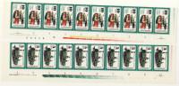 Lot DDR Michel No. 2254 , 2255 ** postfrisch DV Druckvermerk